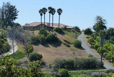 40211 Sandia Creek Dr, Fallbrook, CA 92028 - MLS#: 200016111