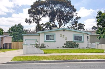 353 N Pierce St, El Cajon, CA 92020 - MLS#: 200021794