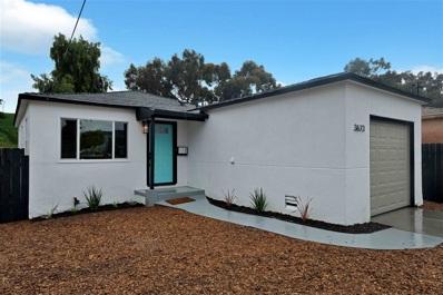 3673 Birch St, San Diego, CA 92113 - MLS#: 200022065