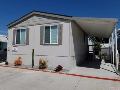 1023 Outer Rd UNIT 42, San Diego, CA 92154 - MLS#: 200022256