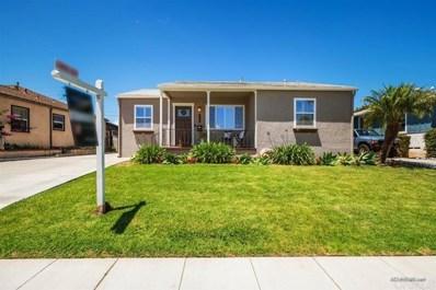 4306 E Overlook Dr, San Diego, CA 92115 - MLS#: 200023233