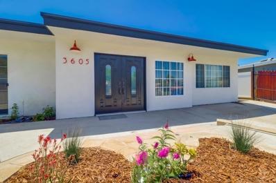 3605 Florence Street, San Diego, CA 92113 - MLS#: 200023572