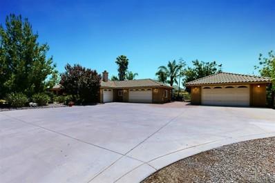 15467 Rainbird Road, Ramona, CA 92065 - MLS#: 200023580