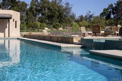 4952 Linea Del Cielo, Rancho Santa Fe, CA 92067 - MLS#: 200023595