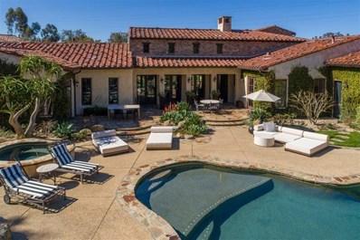6950 Corte Lusso, Rancho Santa Fe, CA 92091 - MLS#: 200025446