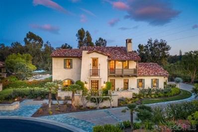 6973 Corte Lusso, Rancho Santa Fe, CA 92091 - MLS#: 200025647