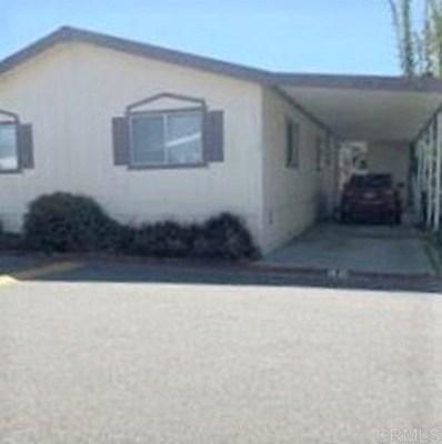 4616 N River Rd Space #48 UNIT 48, Oceanside, CA 92057 - MLS#: 200028687