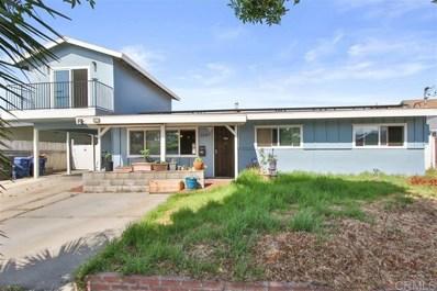 1207 Josselyn Avenue, Chula Vista, CA 91911 - #: 200029454