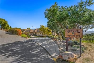 2635 Vista de Palomar, Fallbrook, CA 92028 - MLS#: 200032342