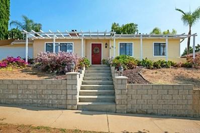 1644 Lily Ave., El Cajon, CA 92021 - MLS#: 200033239