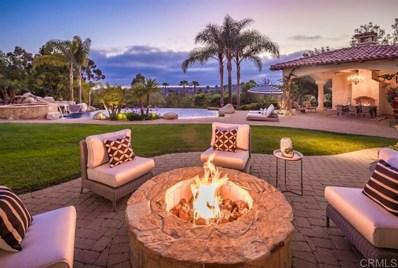 6971 Rancho La Cima Drive, Rancho Santa Fe, CA 92067 - MLS#: 200034088