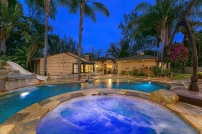 5648 Calzada Del Bosque, Rancho Santa Fe, CA 92067 - MLS#: 200036409
