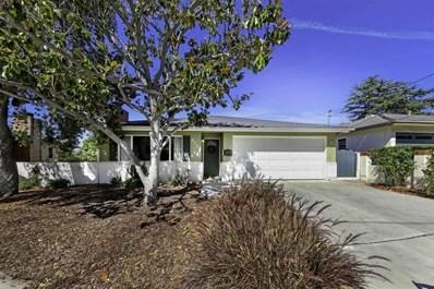 4731 El Cerrito Pl, San Diego, CA 92115 - MLS#: 200036614