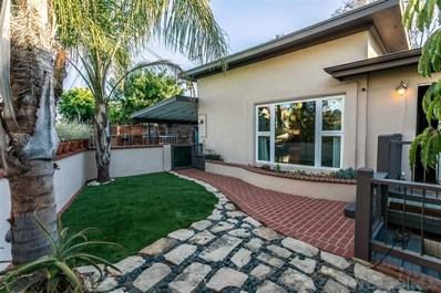 3678 Herbert Street, San Diego, CA 92103 - MLS#: 200038428