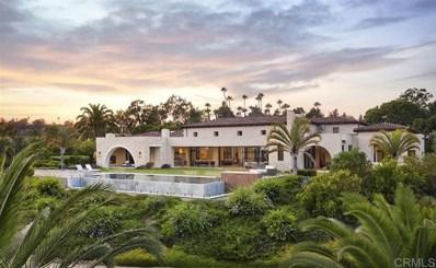 16568 La Gracia, Rancho Santa Fe, CA 92067 - MLS#: 200039921