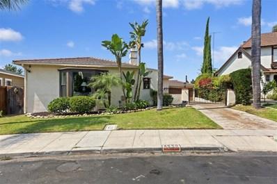 4550 Norma Dr, San Diego, CA 92115 - MLS#: 200040605