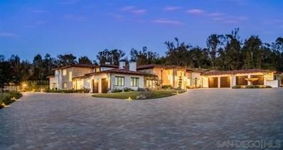 16109 Rambla De Las Flores, Rancho Santa Fe, CA 92067 - MLS#: 200041863