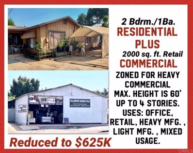 920 S Main Avenue, Fallbrook, CA 92028 - MLS#: 200041968