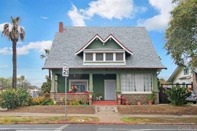 1504 Fern Street, San Diego, CA 92102 - MLS#: 200042186