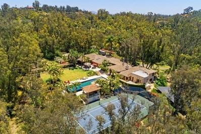 4712 El Nido, Rancho Santa Fe, CA 92067 - MLS#: 200042585