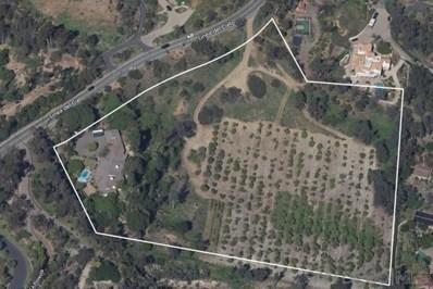 4855 Linea Del Cielo, Rancho Santa Fe, CA 92067 - MLS#: 200043176