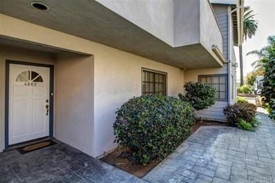 4862 Santa Cruz Avenue, San Diego, CA 92107 - MLS#: 200043978
