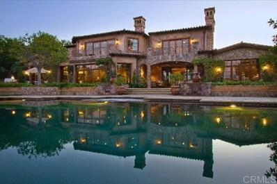 18439 Via Candela, Rancho Santa Fe, CA 92091 - MLS#: 200044753