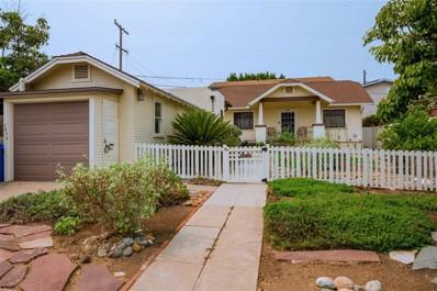 1616 Bancroft St, San Diego, CA 92102 - MLS#: 200045259