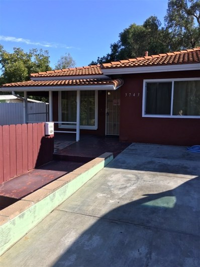 3743 College Ave, San Diego, CA 92115 - MLS#: 200045358