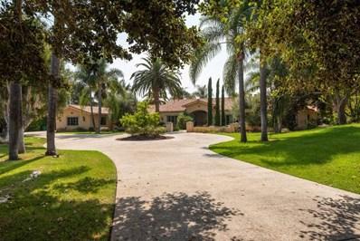 18299 Lago Vista, Rancho Santa Fe, CA 92067 - MLS#: 200045937