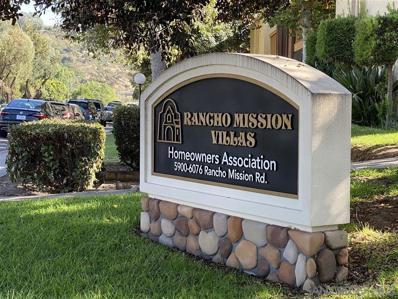 6018 Rancho Mission Rd UNIT 323, San Diego, CA 92108 - MLS#: 200048564