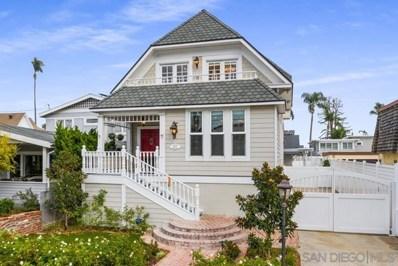 827 A Ave, Coronado, CA 92118 - MLS#: 200051054