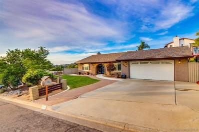 9354 Viento Fuerte Way, La Mesa, CA 91941 - MLS#: 200052661