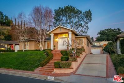 914 Glenvista Drive, Glendale, CA 91206 - MLS#: 20551582