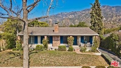 1673 E CALAVERAS Street, Altadena, CA 91001 - MLS#: 20555248