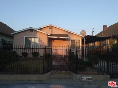 4020 Wall Street, Los Angeles, CA 90011 - MLS#: 20567164