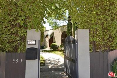 953 N LAUREL Avenue, Los Angeles, CA 90046 - MLS#: 20571498