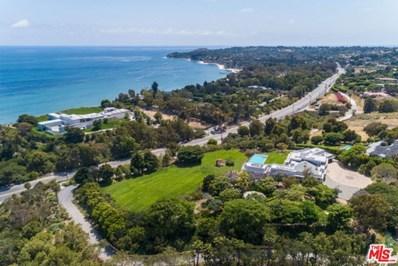 27715 PACIFIC COAST Highway, Malibu, CA 90265 - MLS#: 20577090