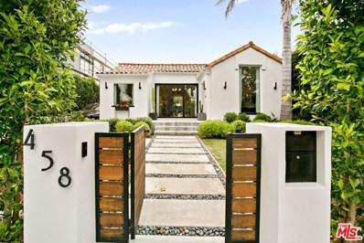 458 N CROFT Avenue, Los Angeles, CA 90048 - MLS#: 20593872