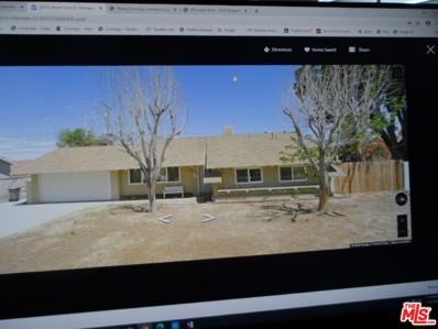 38734 Desert View Drive, Palmdale, CA 93551 - MLS#: 20603192