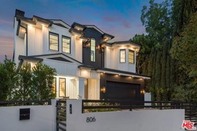 806 N Gardner Street, Los Angeles, CA 90046 - MLS#: 20604038