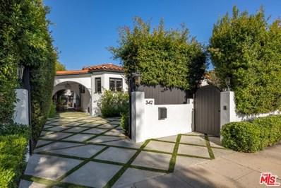 342 N Croft Avenue, Los Angeles, CA 90048 - MLS#: 20615014