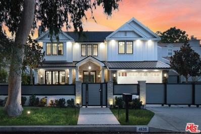 4639 Morse Avenue, Sherman Oaks, CA 91423 - MLS#: 20615904