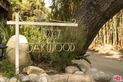 1367 Oakwood Drive, Topanga, CA 90290 - MLS#: 20634312