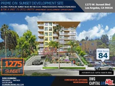 1275 W Sunset Boulevard, Los Angeles, CA 90026 - MLS#: 20637492
