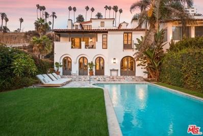1020 Palisades Beach Road, Santa Monica, CA 90403 - MLS#: 20646088
