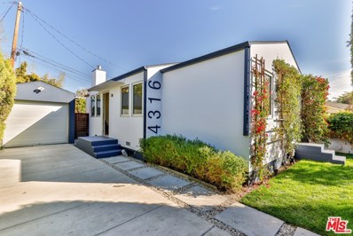 4316 Moore Street, Culver City, CA 90066 - MLS#: 20668244