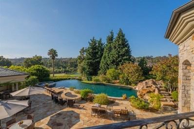 6397 Clubhouse Drive, Rancho Santa Fe, CA 92067 - MLS#: 210000712