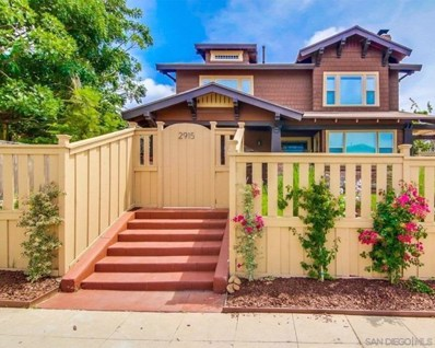 2915 30Th St, San Diego, CA 92104 - MLS#: 210000838