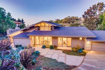 6611 Muirlands Dr, La Jolla, CA 92037 - MLS#: 210001153